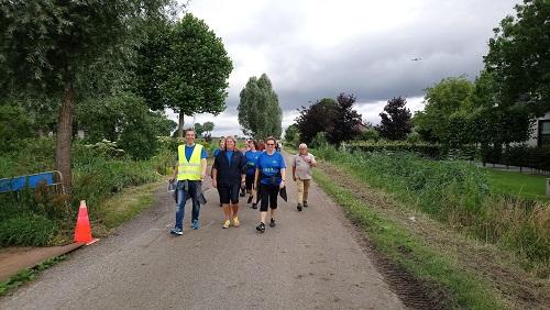 Deelnemers rondje Ouderkerk
